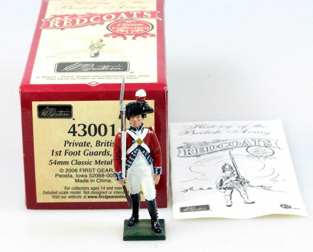 Britains Redcoats 43001 Private British 1st Foot