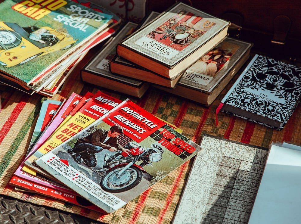 Books / Comics / Mags
