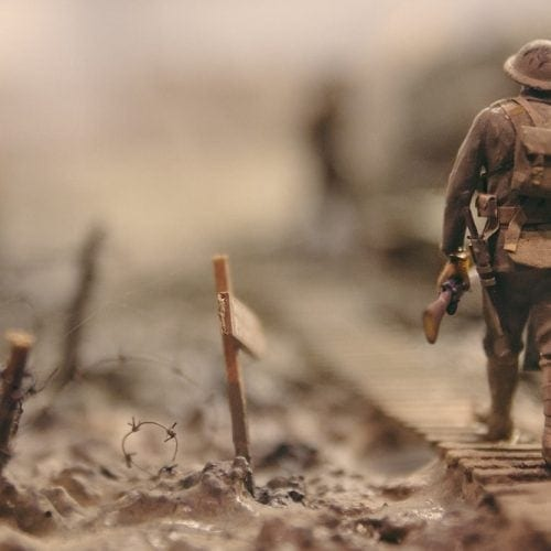 Toy Soldiers & Animals