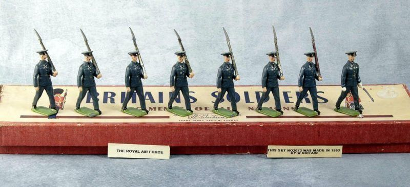 Britains Soldiers 2073 Royal Air Force 1953
