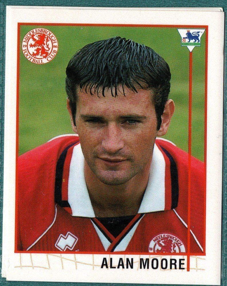 Alan Moore Middlesbrough