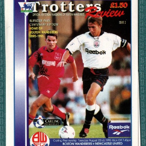 Bolton Wanderers Club Programme