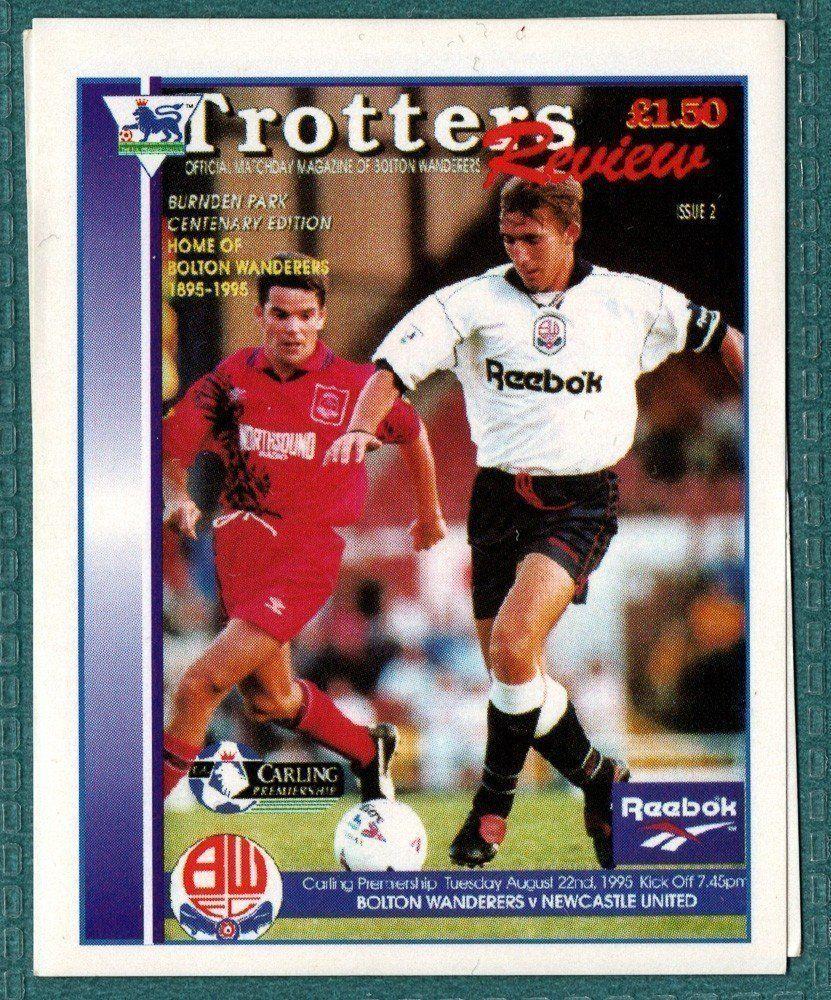 Bolton Wanderers Club Programme
