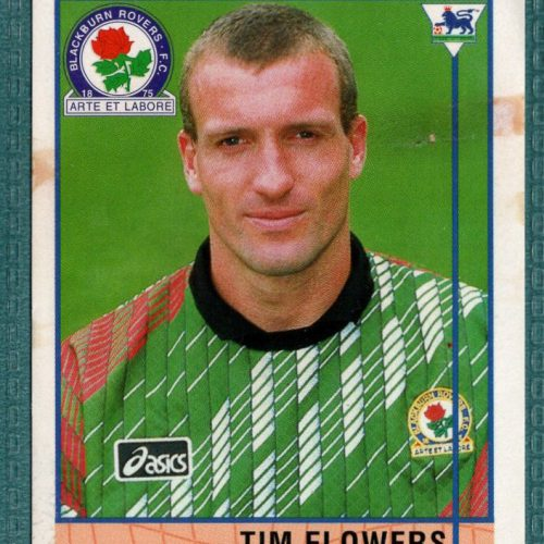 Merlin Premier League 96 Sticker – Tim Flowers Blackburn Rovers
