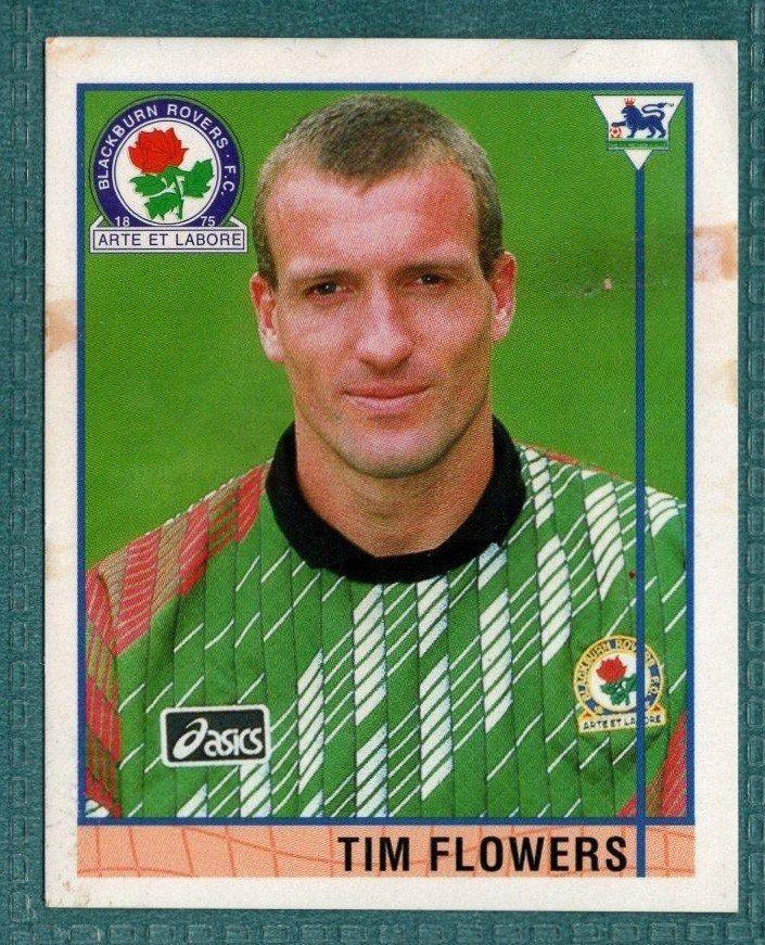 Merlin Premier League 96 Sticker – Tim Flowers Blackburn Rovers
