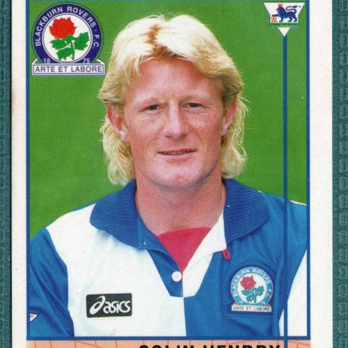 Colin Hendry Blackburn Rovers