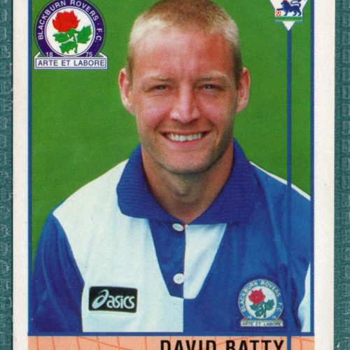 David Batty Blackburn Rovers