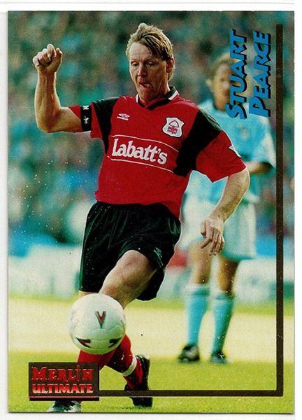 Notts Bosque No.79 Merlin Premier League 96-Stuart Pearce protagonista 2//2